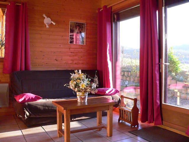 Chalet paradisiaque Mesange - Saint-Floret - Chalet