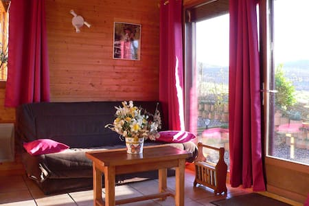 Chalet paradisiaque Mesange - Saint-Floret - 牧人小屋