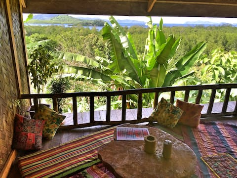 Overlooking Jungle bar Resto & Hut.
