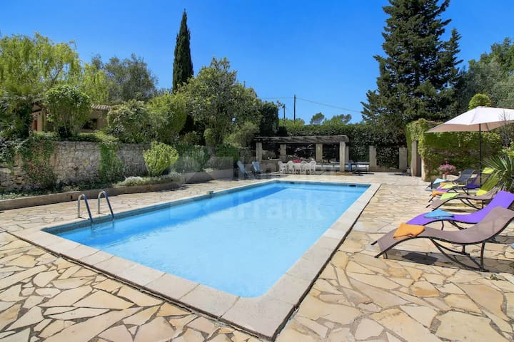 Beautifull house w/private pool-30 min from Cannes - Tourrettes - Casa