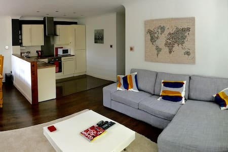 Modern 2 bed, close to Beach/bar - Bournemouth - Apartamento