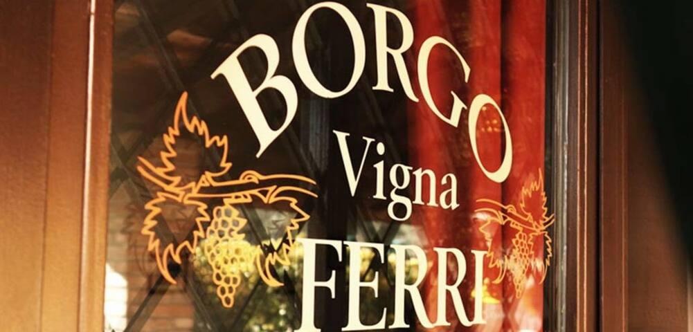 """B&B """" BORGO VIGNA FERRI """""""