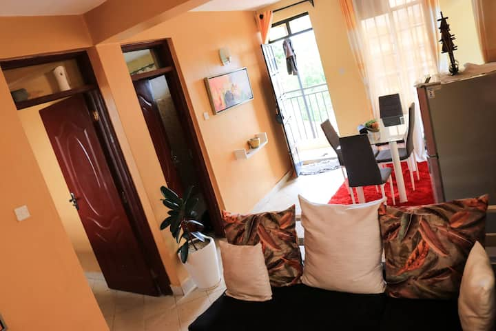 Secured environment in Milimani within CBD