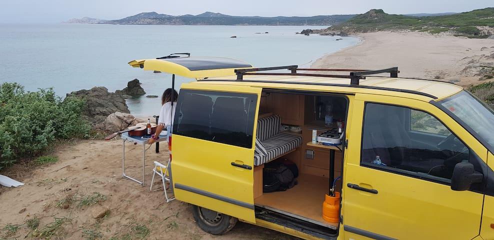 °VITO° Van Camper Furgoneta  Mercedes 2.2D