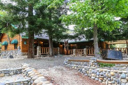 @thecabin Yosemite! Kids, dogs & family friendly!