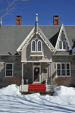 Okemo Ski Area w/Rustic Barn for Weddings/Events - Cavendish - Rumah