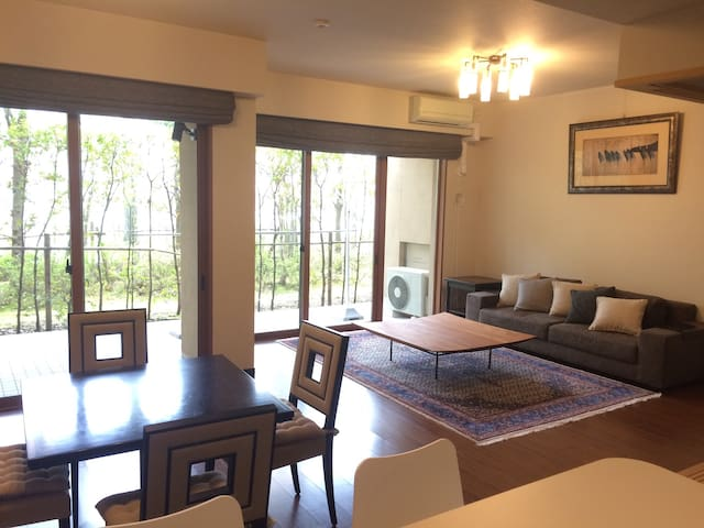 Cozy spacious flat - Karuizawa-machi - Apartment