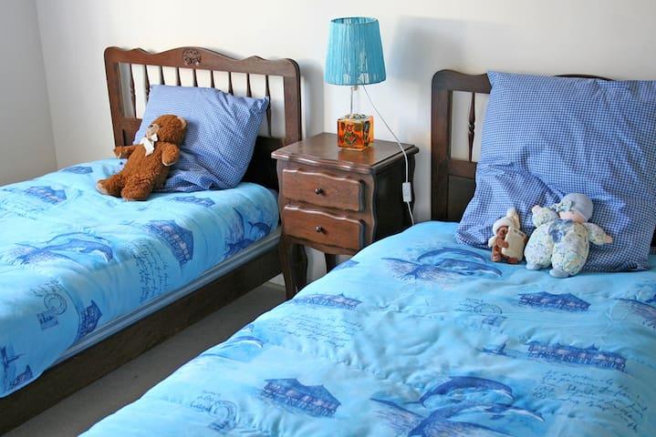 chambre enfants : 2 lits 1P
