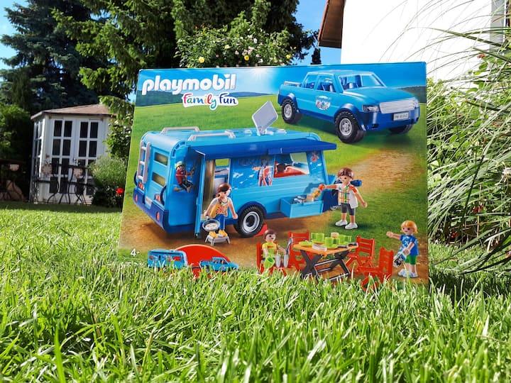 30 QM & Garten - 8 Minuten zu Playmobil Fun Park