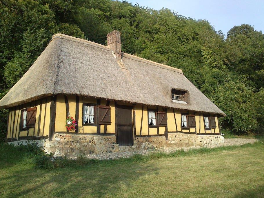 La petite chaumi re du pr manoir maisons louer saint - La petite maison normandie ...