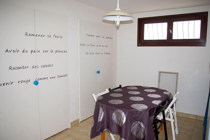 Le calme de la campagne entre Vienne et Lyon - Luzinay - Apartment