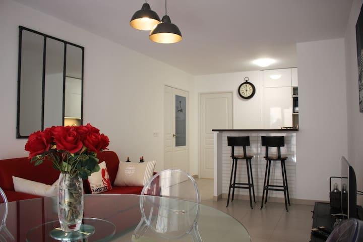 Apartment in Center Marseille - Terrace & Garage