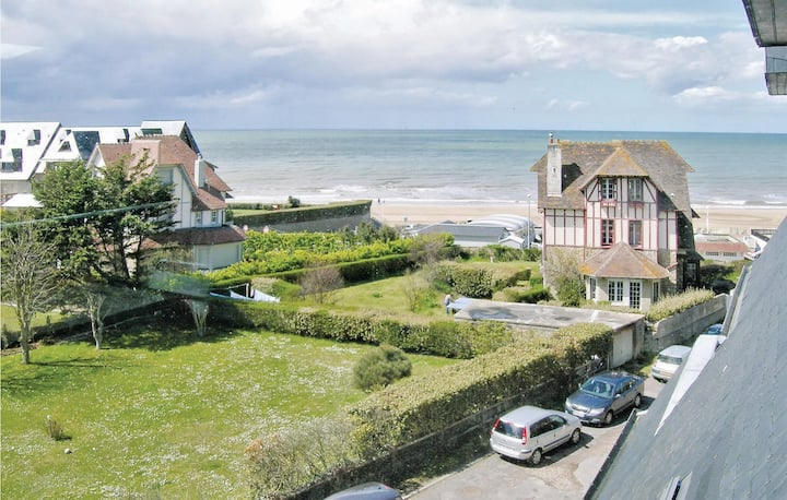 Stunning home in Benerville Sur Mer with 1 Bedrooms