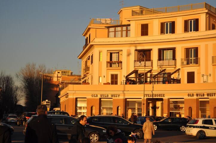 Il Pontile - visita Roma guardando il mare - Rome - Apartmen