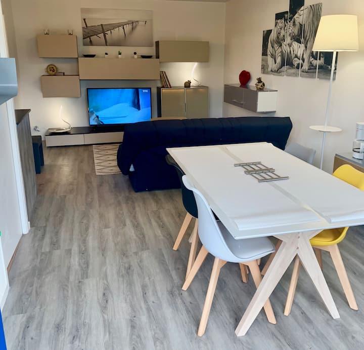 Appartement le Couregant mer et jardin
