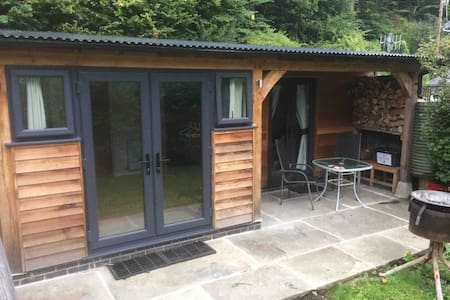 Gelli lodge. Private hideaway in Knighton