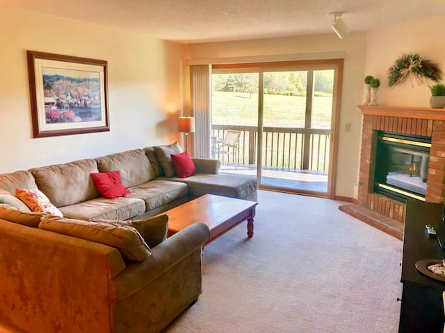 SC10: Beautiful Mountain Views! Renovated Bretton Woods Resort condo  with easy access to Mt Washington, Skiing, Conway, and the white mountains! Discounted cog tickets and GROCERY DELIVERY AVAILABLE! #2