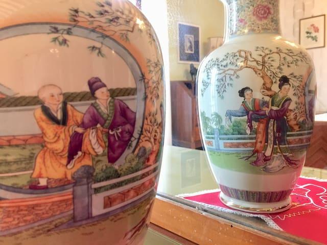"""Un vaso nella camera """"Zen"""""""