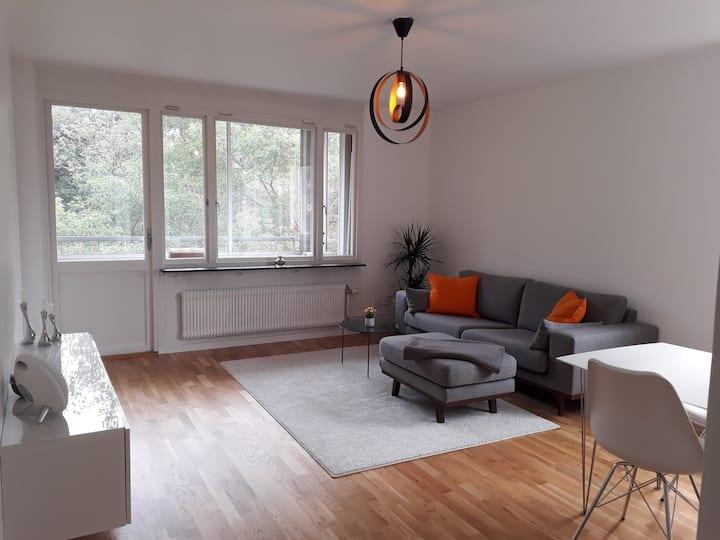 Bright and cozy apartment in quiet area