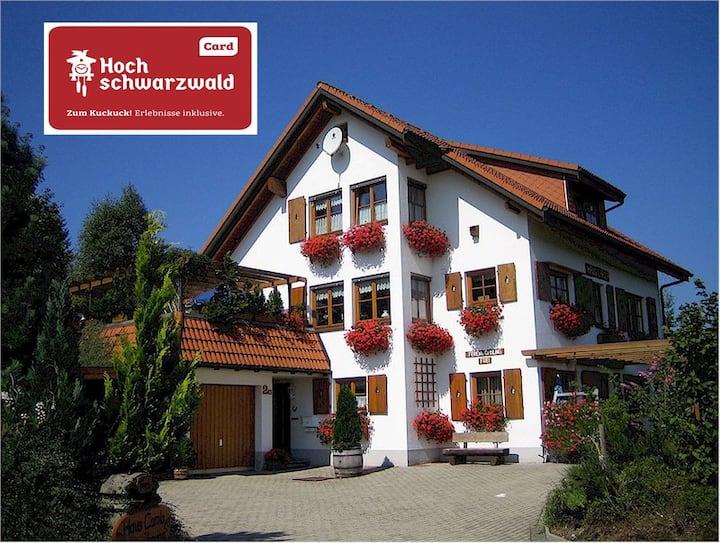Ferienwohnung HausCarola****(Hochschwarzwald Card)