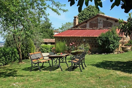 Romantic cottage in Tuscany ideal for couples - Lecchi - Talo