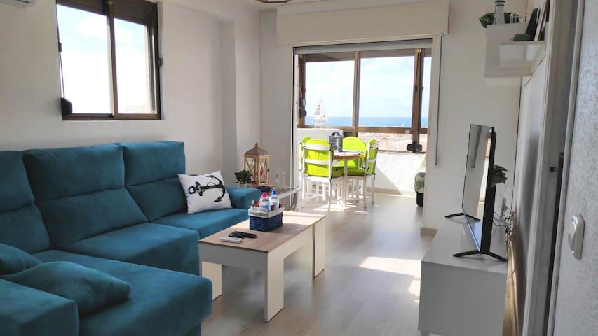 Apartamento Villa Delfín, preciosas vistas al mar