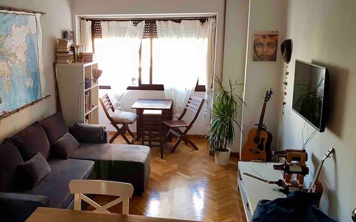 luminoso apartamento con encanto