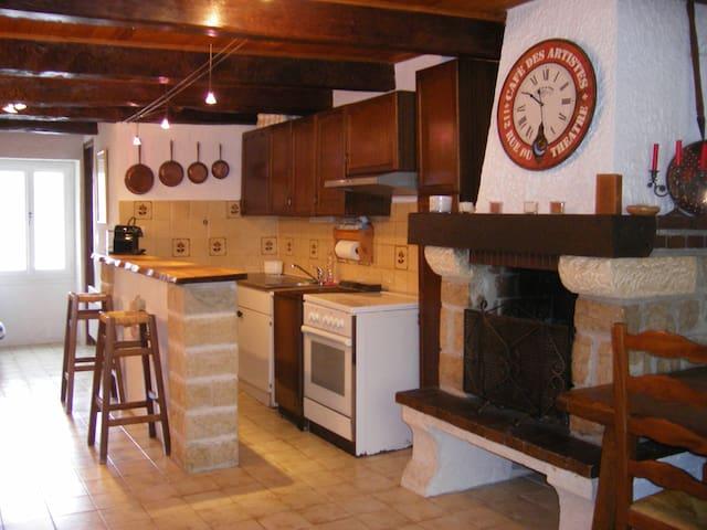 maison de village moyenne montagne - Caille - Διαμέρισμα