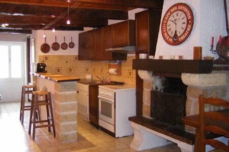 maison de village moyenne montagne - Caille