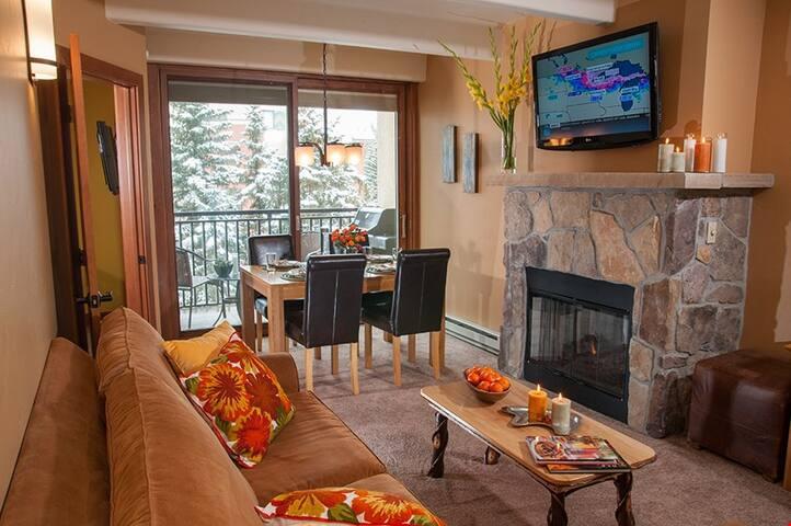 Cozy 1 Bedroom Suite In Vail