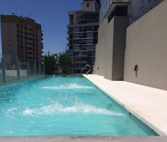 Studio Palermo, with pool, jacuzzi and sauna. - Buenos Aires - Wohnung
