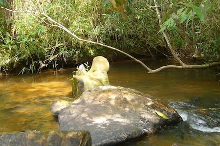 Tranquila Suíte com o quintal na Cachoeira