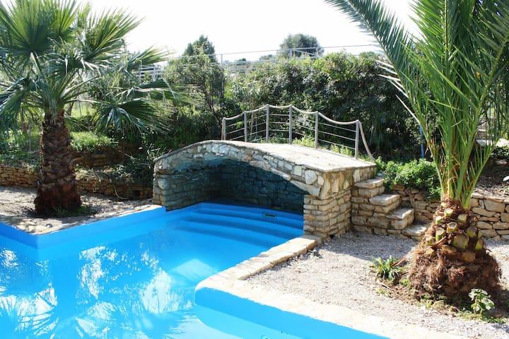 Trizonia House - Luxury-villa with seaview & pool - Trizonia - Вилла