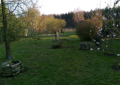 Pokój 2 os.z pięknym ogrodem!!!! - Błotnica Strzelecka