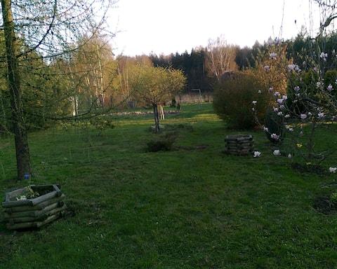 Pokój 2 os.z pięknym ogrodem!!!!