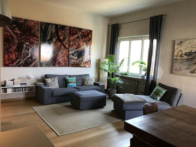 Appartamento nuovo  lungo Po, centrale ,4 persone