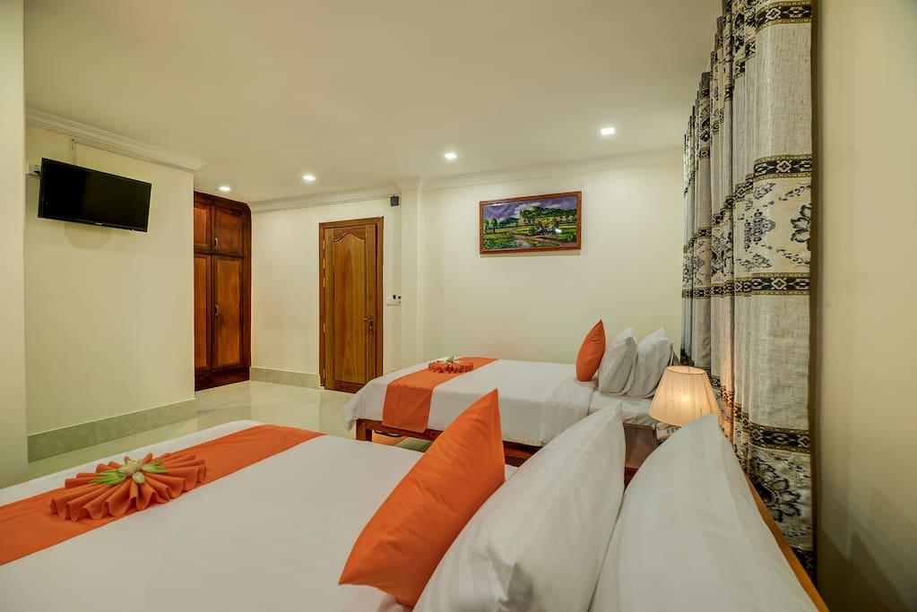 Bedroom-2 Singles beds