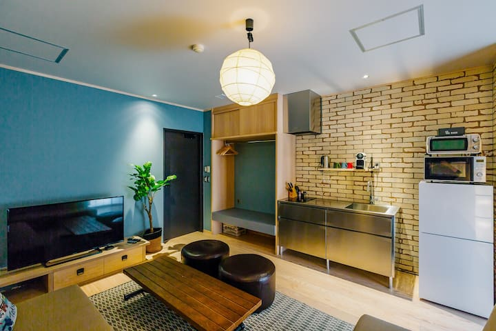 Wadano Gateway: 2 Bedroom Apt, Bathroom Breakfast