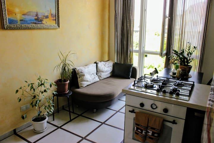 Зона отдыха на кухне/Rest area in the kitchen