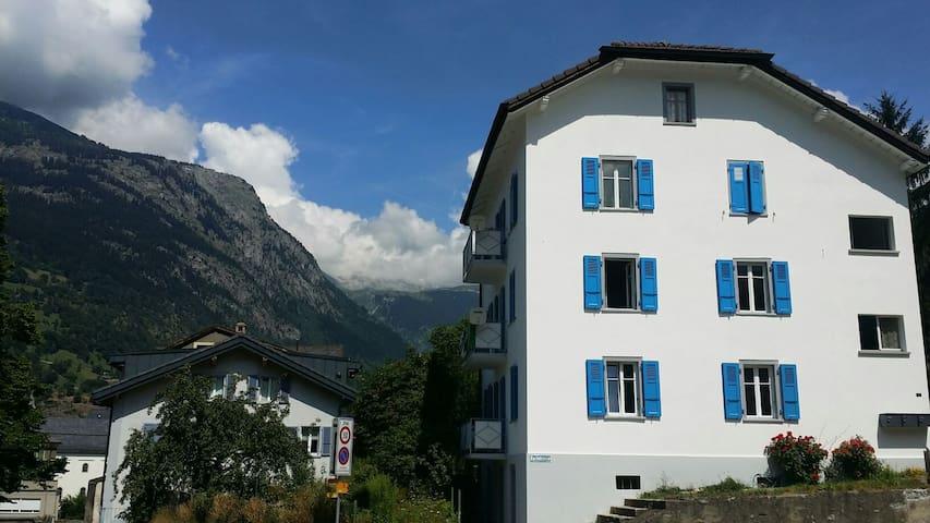 Panorama Alpine views