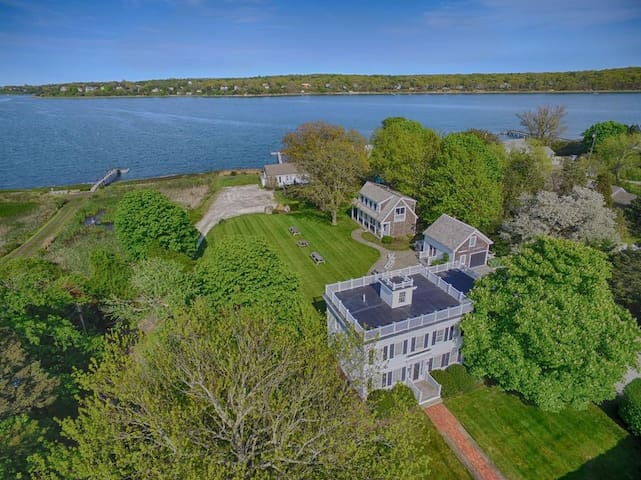 #446: Waterfront fun awaits at this huge family compound!