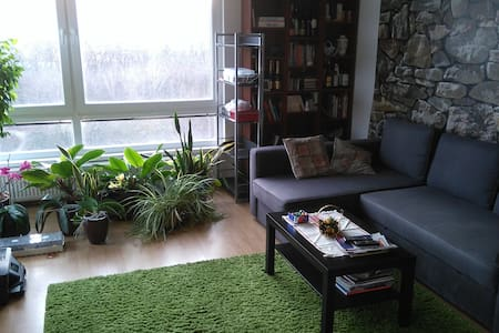 NEW Sunny 2BD apt. near Bory Mall and forest - Bratislava - Apartamento