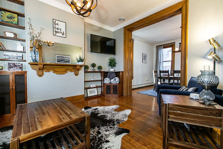 Downtown Dubuque Townhome with Beautiful Deck/Yard