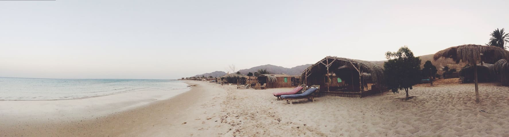 Coral beach it's an ECO camp - Taba - Hut