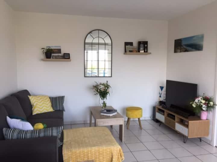 Appartement T2 centre-ville de Gujan-Mestras.