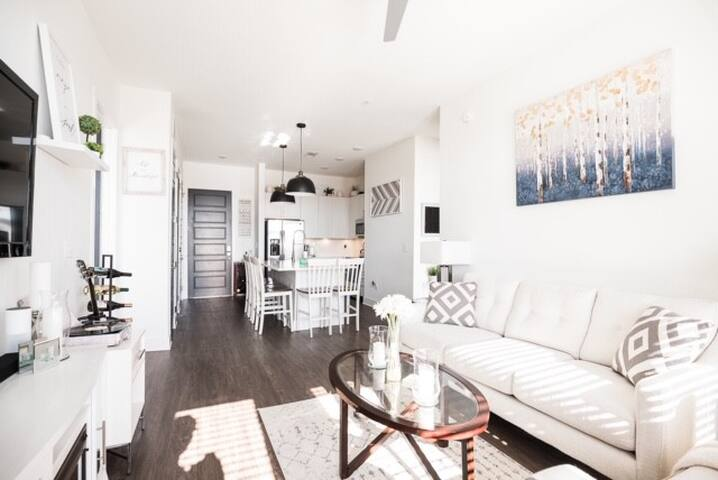 Lux Downtown Nash Apt-Walk to Everything-Park Free