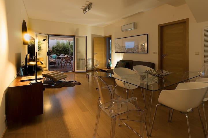in a design home