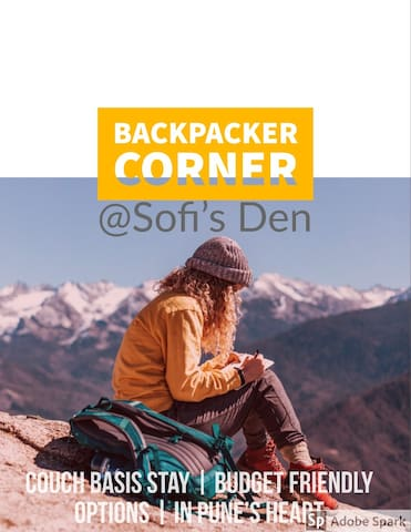 Backpacker corner @Sofi's Den