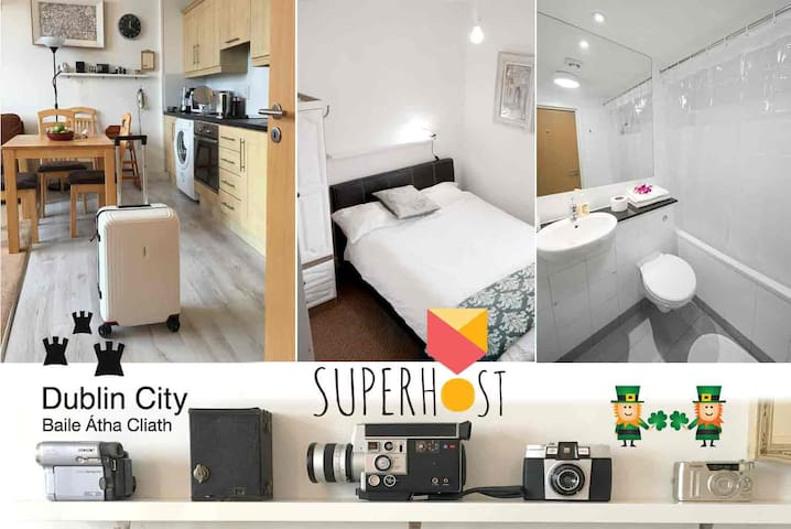 Direct dbl decker buses to Centre - Santry - Appartement