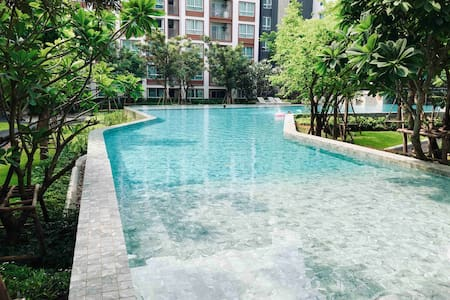 Cosy room with Resort condo near Central mall 50m.